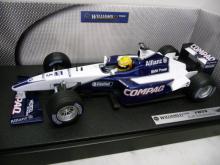 Williams FW23 F1 2001 Ralf Schumacher Mattel 50200 1:18