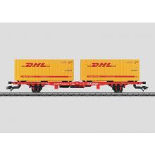 Containertragwg. DHL DB AG Märklin H0 47705