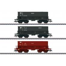 Schüttgutwagenset Minéralier Märklin H0 48436