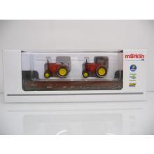 Flachwagen mit Traktoren Märklin H0 46973