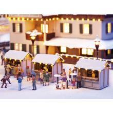 Weihnachtsmarktbuden Noch H0 66412