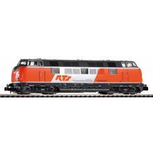 Spur N - Diesellok BR 221 orange/grau der RTS Epoche VI mit DSS Next18 Piko N 40506