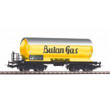 58988 Druckgaskesselwagen Butan Gas gelb der FS Epoche III - Piko H0