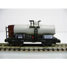 Fleischmann N 8410 Kesselwagen 2-achsig weiß/rot ESSO