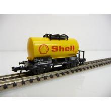 Minitrix N 51 3541 00 Kesselwagen 2-achsig gelb Shell