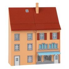 130711 2 Reliefhäuser Kleinstadt - Faller H0