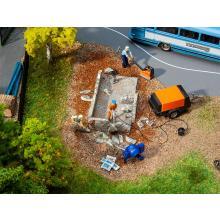Baumaschinen-Set Faller H0 180344