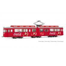 HR2755 Coca Cola Tram CHRISTMAS Rivarossi H0