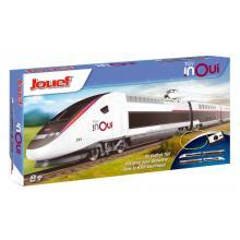 HJ1060 Startset TGV 2N2 Duplex der SNCF mit Gleisoval und Fahrregler - Jouef H0