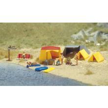 Campingzelte zum Gestalten Ihrer Anlage Busch H0 6026