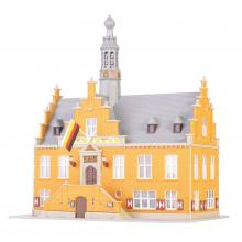 Rathaus In Purmerend 15,5 x 14 x 18,5  Kibri N 12504