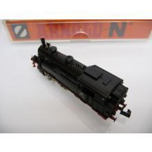 7440 Elektrotriebzug ICE 1 mit zwei Triebköpfen BR 401 hellgrau/rot Fleischmann N