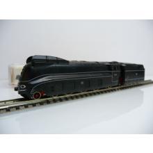 7172 Schlepptender Stromlinienlok BR 1.10 schwarz 01 1070 Fleischmann N mit OVP