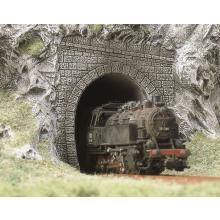 7025 Zwei Dampflok-Portale - Busch H0