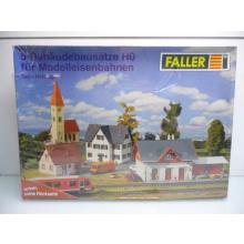 5 Bausätze Set - Haltingen - Faller H0